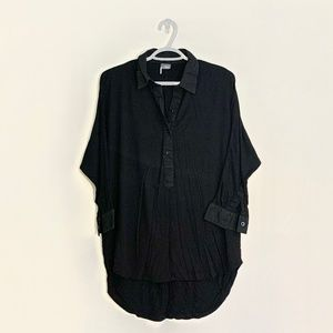 2/$30 Urban Outfitters Black Collared Shirt Small